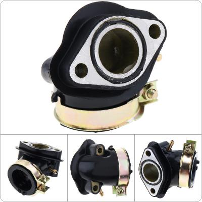 GY6125 GY6 110cc Intake Pipe of Beach Car Motorcycle Carburetor Joint Intake Manifold Pipe Boot Holder  for  Moped Scooter ATV Go Kart