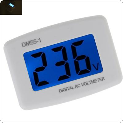 AC 80-300V Voltage Meter US Plug Volt Meter LCD Digital Display Voltmeter Testers