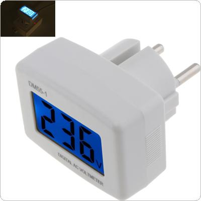 AC 80-300V Voltage Meter EU Plug Volt Meter LCD Digital Display Voltmeter Testers