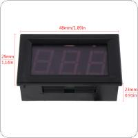 "0.56"" LED Digital Display DC 4-30V 10A Voltage Meter Current Tester LED Digital Ammeter Voltmeter"