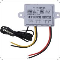 XH-W3002 DC 12V 10A Digital LED Temperature Controller Switch with Probe Sensor