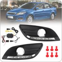 White Light High Brightness Waterproof Two And Three Compartments Special Daylight Fox Sunlight for 09-14 Ford Fox