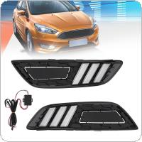 White Light High Brightness Two or Three Compartments 2015-Fox Sunlight LED Daytime Traffic Lights Fog Light Turn for Ford Refitting