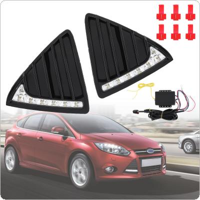White Light High Brightness Special Tusk Sunlight LED Daytime Traffic Lights Fog Lamp Fit for Ford Focus 2012 - 2014