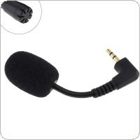 Mini 3.5mm Elbow Jack Flexible 65MM Microphone Mic for Mobile Phone / PC / Laptop Notebook / Car