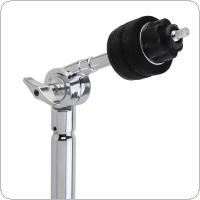 Full Metal Adjustment Foldable Floor Cymbal Triangle-bracket Stand Holder Jazz Drum Set Percussion
