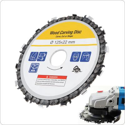 Circular Saw Blade 125mm Grinder Saw Disc Carbide Tipped Wood Cutting Blade Power Tool Accessories