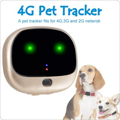 RF-V43 4GLTE+3GWCDMA+2G GSM Mini GPS+WIFI Double Fence Waterpoof IP67 Pet Tracker Real Time Tracking Locator
