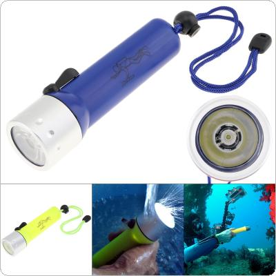 XPE Aluminium Alloy Waterproof 18650 Underwater 50m Rechargeable LED Lamp Strong Light Professional Diving Flashlight for Diving Photography Video