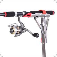 Automatic Full Stainless Steel Spring Fishing Rod Holders Adjustable Sensitivity Folding Fishing Bite Bracket