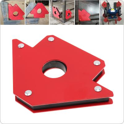 1PCS 75LBS Welding Magnetic Holder Strong Magnet 3 Angle Arrow Positioner Power Soldering Locator Tool