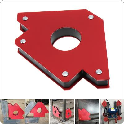1PCS 50LBS Welding Magnetic Holder Strong Magnet 3 Angle Arrow Positioner Power Soldering Locator Tool