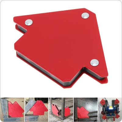 1PCS 25LBS Welding Magnetic Holder Strong Magnet 3 Angle Arrow Positioner Power Soldering Locator Tool