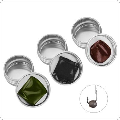 15g Soft Metal Tungsten Mud Putty Sinker Weight Environmental Moldable Float with Storage Box