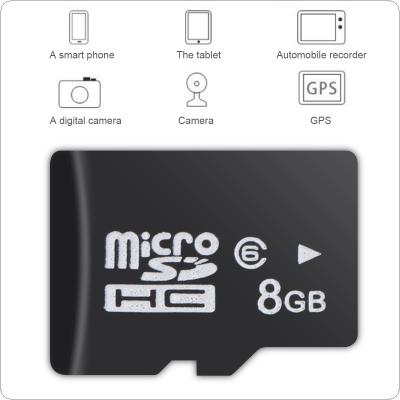 8GB Micro SD / TF Transflash Memory Card for Smartphone / Tablet PC / Driving Recorder / Digital Camera / Camera / GPS Navigation