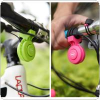 Rechargeable Waterproof Electronic Bicycle Horn Loud Volume Cycling Handlebar Electric Bike Ring Mini Alarm Bell