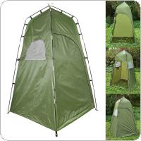 Outdoor Tent 210T Camping Shower Bathroom Privacy Toilet Changing Room Shelter Single Moving Folding Tents