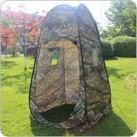 Outdoor Pop Up Tent 180T Camping Shower Bathroom Privacy Toilet Changing Room Shelter Single Moving Folding Tents