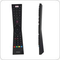 IR 433MHZ RM-C3231 Replacement TV Remote Control with NETFLIX Button Suitable for Currys JVC Smar TV LT24C656 / LT24C661