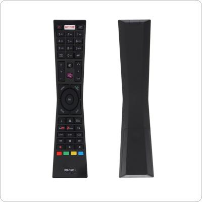 IR 433MHZ RM-C3231 Replacement TV Remote Control with NETFLIX Button Fit for Currys Smart TV LT24C656 / LT24C661