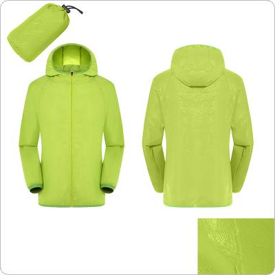 Men's Women's Quick Dry Hiking Jacket Waterproof Sun UV Protection Coats Outdoor Sports Fishing Skin Jackets