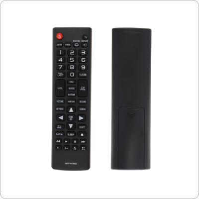 IR 433MHZ AKB74475433 Replacement TV Remote Control with Long Remote Control Distance Suitable for LG LCD Smart TV 32LF510B / 43LF5100 / 49LF5100
