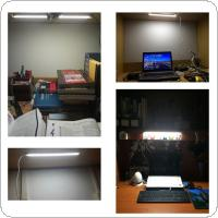 DC 5V 50CM Aluminum & PVC Cool White / Warm White LED Bar Strip Lamp with Switch and USB Interface for Lighting