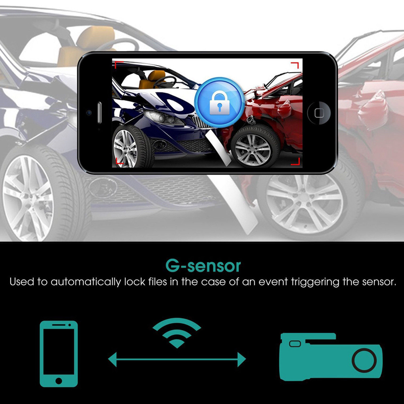 S600 Hidden Multifunctional Car DVR 1080P Full  HD Night Vision Dash Cam Wifi  G Sensor Support Motion Detection / Parking Monitoring / Loop Recording