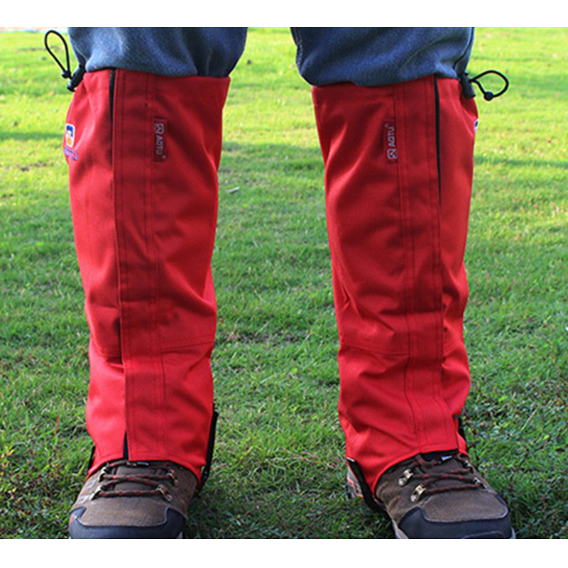 1 Pair Outdoor Snow Kneepad Skiing Gaiters Hiking Climbing Leg Protection Guard Sport Safety Waterproof Leg Warmers Skating Shoes Gaiters