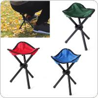 Outdoor Fishing Chair Portable Tripod Stool Folding Chair Camping Walking Picnic Garden Foldable Three Feet Beach Chair