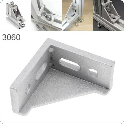 3060 Aluminum Corner 30x60 L Shape Right Angle Support Connector Extrusion Industrial Aluminum Profile