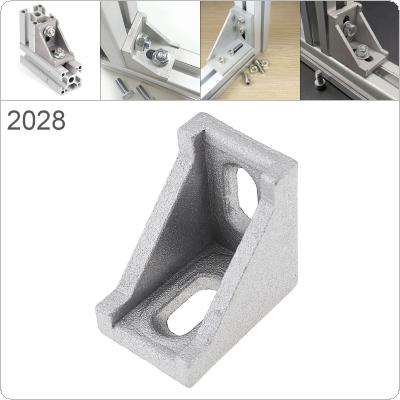 2028 Aluminum Corner 20x28 L Shape Right Angle Support Connector Extrusion Industrial Aluminum Profile