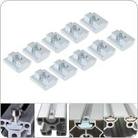1PCS M8 for 40 Series Slot T Nut Sliding T Nut Hammer Drop In Nut Fasten Connector 4040 Aluminum Extrusions