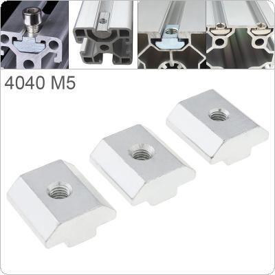 1PCS M5 for 40 Series Slot T Nut Sliding T Nut Hammer Drop In Nut Fasten Connector 4040 Aluminum Extrusions