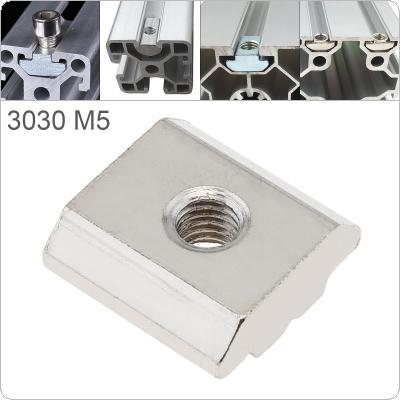 1PCS M5 for 30 Series Slot T Nut Sliding T Nut Hammer Drop In Nut Fasten Connector 3030 Aluminum Extrusions