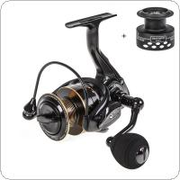 Aluminum Alloy Spinning Reel 7.5KG / 17LB Max Drag Power 5000 Series Fishing Wheel for Bass Pike Fishing