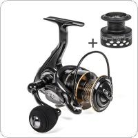 Aluminum Alloy Spinning Reel 6.5KG / 14LB Max Drag Power 2000 Series Fishing Wheel for Bass Pike Fishing