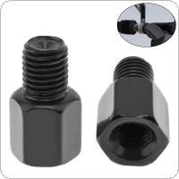 1 Piece Clockwise  8mm to 10mm Motorcycle Rearview Mirror Screw Thread Adapter Conversion Bolt Motorbike Mirror Screw