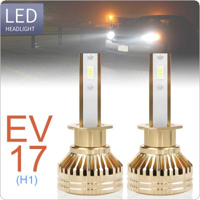 2pcs H1 12000LM 6000K White Super Bright TX3570 Chip Car Headlight Bulbs IP67 Waterproof for Car / Truck / SUV / RV