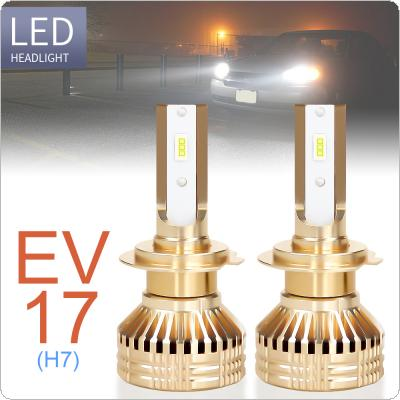 2pcs H7 12000LM 6000K White Super Bright TX3570 Chip Car Headlight Bulbs IP67 Waterproof for Car / Truck / SUV / RV