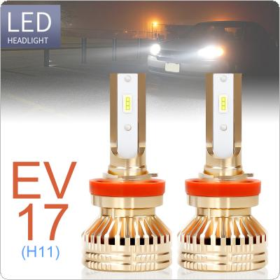 2pcs H8 / H9 / H11 12000LM 6000K White Super Bright TX3570 Chip Car Headlight Bulbs IP67 Waterproof for Car / Truck / SUV / RV