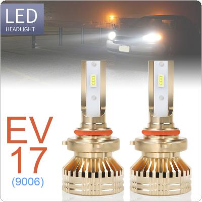 2pcs 9006 / HB4 12000LM 6000K White Super Bright TX3570 Chip Car Headlight Bulbs IP67 Waterproof for Car / Truck / SUV / RV
