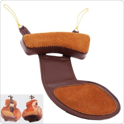 3/4-4/4 Sheepskin Soft Violin Chin Rest & Shoulder Pad Violin Accessories