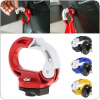 Motorcycle Luggage Helmet Hook Mount Aluminum Alloy Motorcycle Scooter Helmet Holder Bag Bottle Hook Hanger with Screws