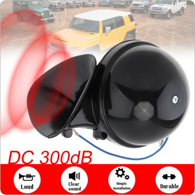 Super Loud 118dB Electric Snail Horn Waterproof Universal 12V High Tone Speaker for Car Truck Boat Motorcycle