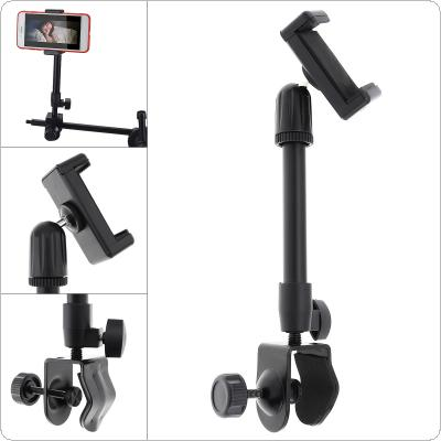 Multifunction Live Broadcast Cell Phone Holder Bracket Tripod with Table Clip Lifting Extension Mount for Selfie Studio Vlog Video