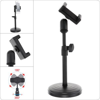 Live Broadcast Extendable Cell Phone Holder with Lifting Mount Stand for Vlog Studio Video Chatting