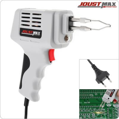 100W EU Automatic Electric Soldering Iron Tin Gun Solder Wire Welding Tool with Spotlight for Circuit Welding