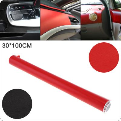 2 Colors  30 x 100cm PVC Automobile Interior Decoration Modification Sticker Fit for Car / Motorcycle / Electronic Product / Home