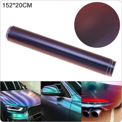 20 X 152cm PVC Glossy side  Blue / Purple Discolor Automobile Decoration Modification Sticker Fit for Car / Motorcycle / Electronic Product / Home